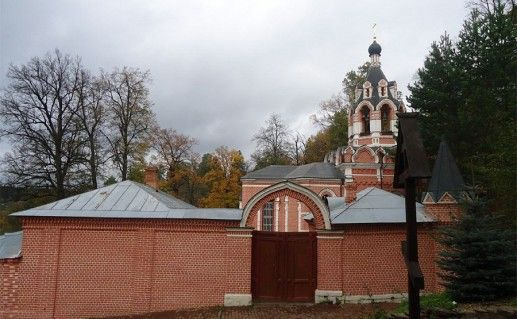 фото Саввинского скита в Звенигороде