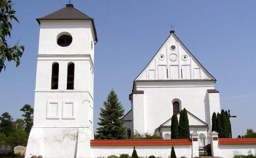 фотография Троицкого костела в Бресте