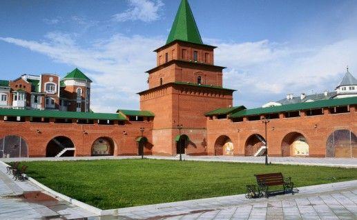 фотография Царевококшайского кремля в Йошкар-Оле