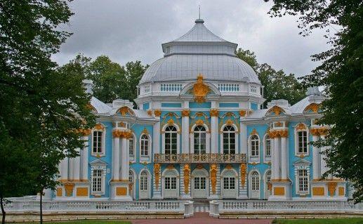 фото Царского села в Ленинградской области