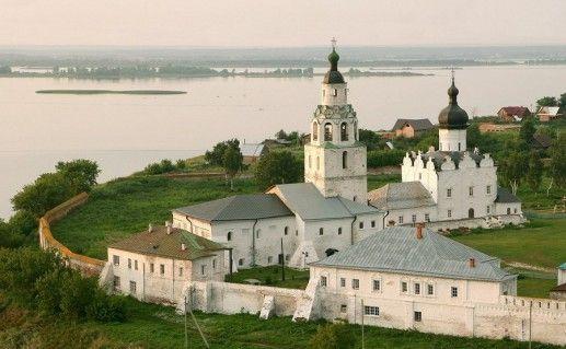остров-град Свияжск в Татарстане фотография