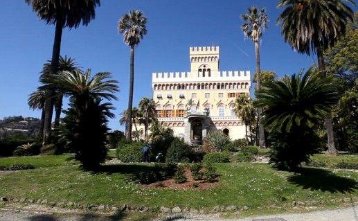 фото вида на виллу Негротто-Камбьяза в Генуе