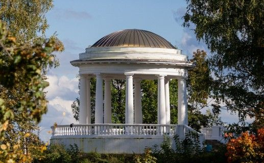 фото Александровского сада в Кирове