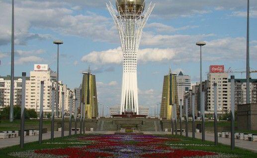 фото башни Байтерек в Астане