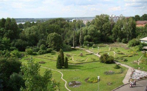 фотография ботанического сада в Томске