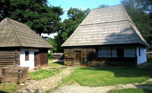 фото Деревенского музея в Румынии