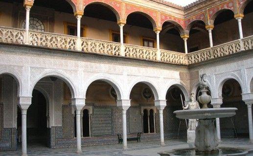 фотография дома Пилата в Севилье