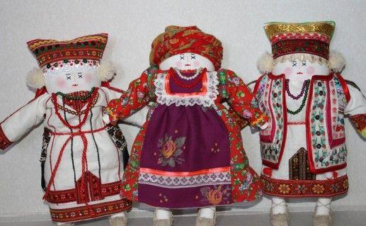 фотография экспонатов музея мордовской культуры в Саранске