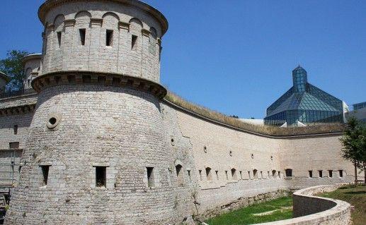 фотография форта Тюнген в Люксембурге