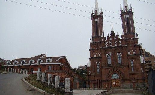 храм Пресвятой Богородицы во Владивостоке фотография