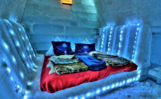 фотография ледяной гостиницы Быля Лак в Румынии