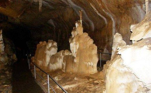 фото мраморной пещеры в Симферополе