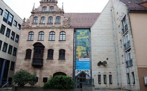 фото музея игрушек в Нюрнберге