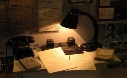 фотография музея криминалистики в Гомеле