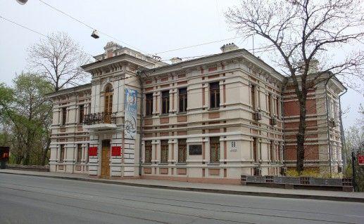 фотография музея Тихоокеанского флота во Владивостоке