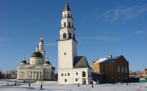Невьянская наклонная башня на Урале фото