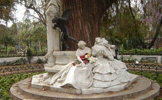 Севильский парк Марии Луизы фотография