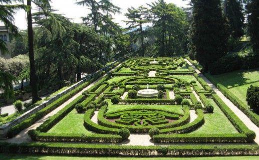 сады Ватикана фотография