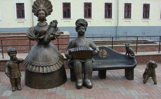 фотография скульптуры Семья в Кирове