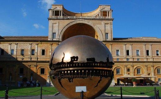 ватиканская скульптура Земной шар фото
