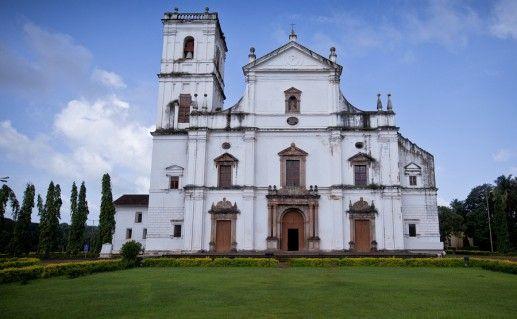 фото Собора Святой Екатерины на Гоа