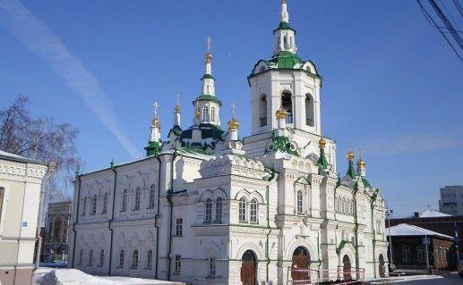 тюменская Спасская церковь фотография