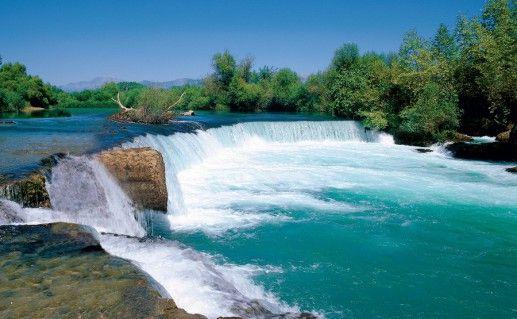 водопад Манавгат в Сиде фото