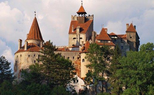фото замка Бран в Румынии