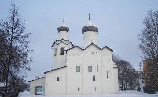 Фотография Спасо-Преображенский монастырь вид сбоку