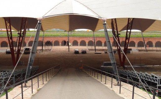 фотография концертной площадки в бастионе Хамины