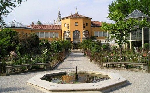 фотография ботанического сада в Падуе