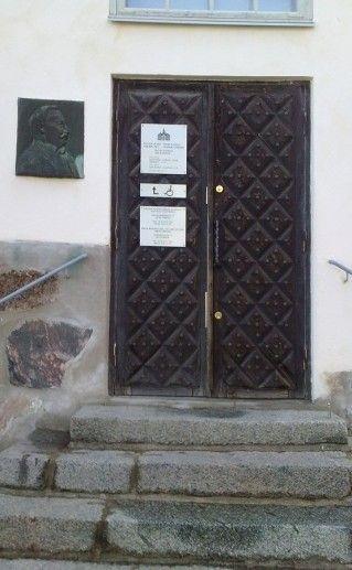 дом Холма в Порвоо фотография
