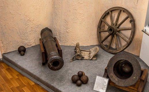 фотография экспоната в краеведческом музее Шымкента