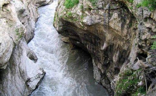 Хаджохская теснина сверху фото
