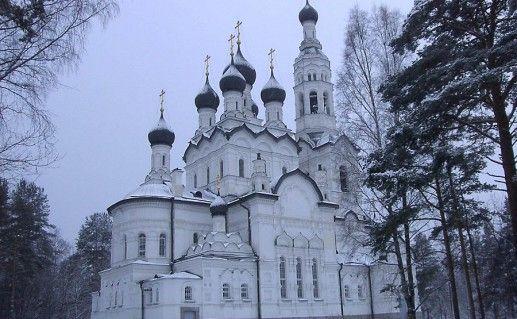 храм Казанской иконы Божьей матери Зеленогорск фото
