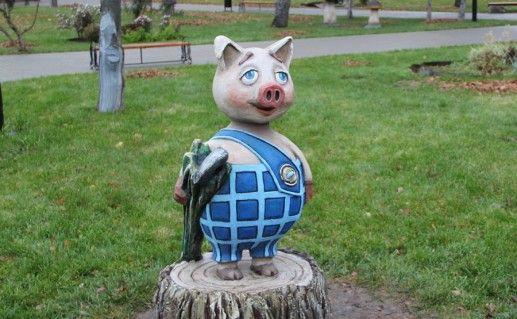 Детский парк в Козельске фото
