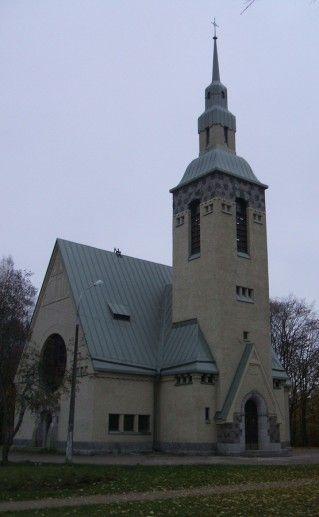 лютеранская кирха в Зеленогорске фото