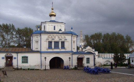 верхотурская надвратная церковь фото