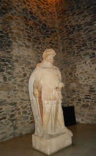 фотография памятника Святому Олафу в Савонлинне
