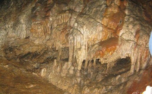 Вид внутри одной из пещер Лагонаки фотография