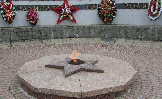 Вечный огнь в Волоколамске фото