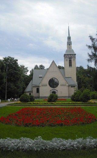 фото лютеранской церкви в Зеленогорске
