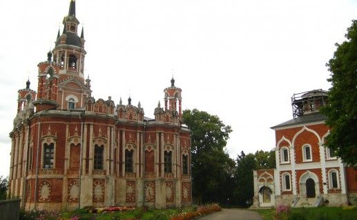 Фотография Можайского кремля сбоку
