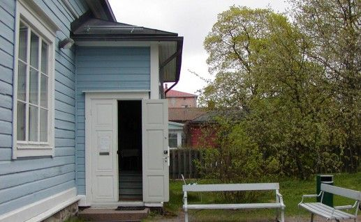 дом Руненберга в Порвоо фотография
