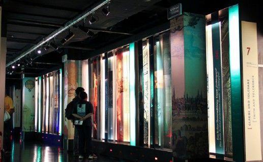 бункер музея истории Берлина фотография