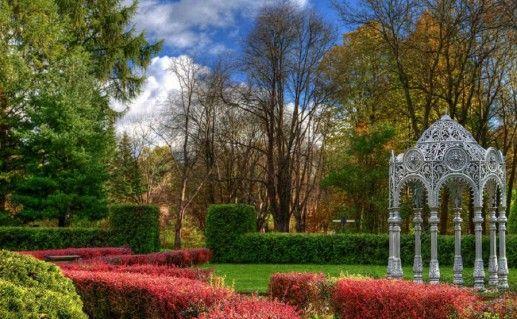 фотография дендрария в минском ботаническом саду