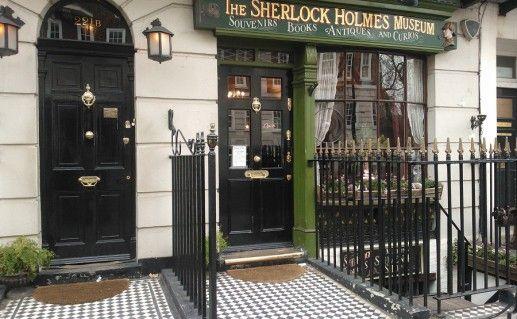 фотография дома Шерлока Холмса в Лондоне