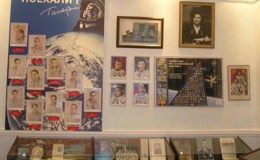 фото экспонатов музея Гагарина в Саратове