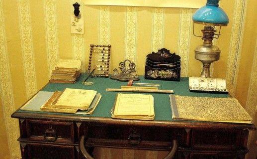 фотография экспозиции музея Толстого в Самаре