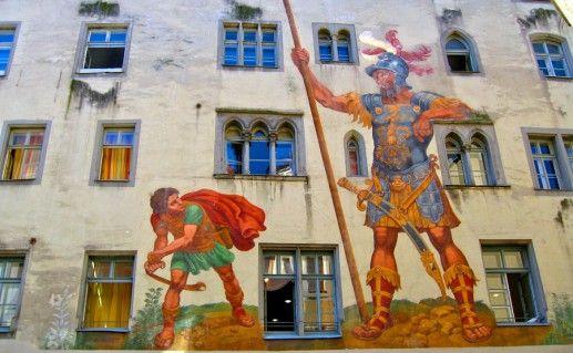 Голиаф-Хаус в Регенсбурге фотография
